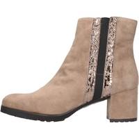 Sapatos Mulher Botins Grunland - Tronchetto taupe PO1459-81 BEIGE