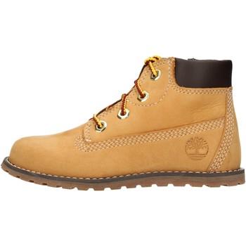 Sapatos Rapaz Botas baixas Timberland - Polacchino giallo 0A125Q GIALLO