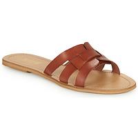Sapatos Mulher Chinelos So Size MELINDA Camel