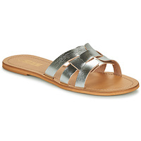 Sapatos Mulher Chinelos So Size MELINDA Prateado