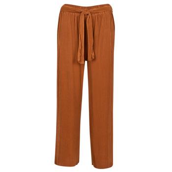 Textil Mulher Calças finas / Sarouels Moony Mood 93114-ROUILLE Ferrugem
