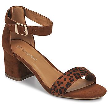 Sapatos Mulher Sandálias Moony Mood MEDIO Leopardo