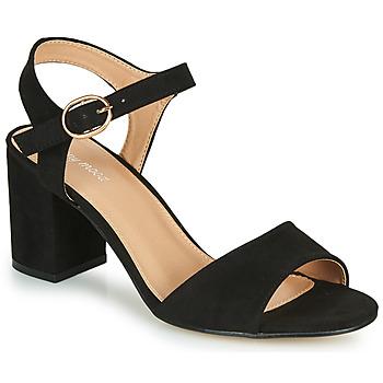 Sapatos Mulher Sandálias Moony Mood MEGANE Preto