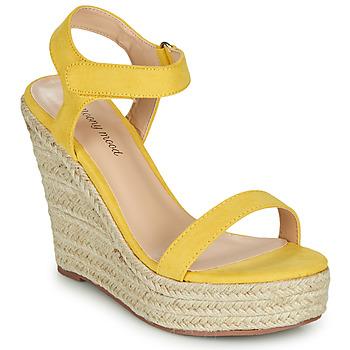 Sapatos Mulher Sandálias Moony Mood MARTA Amarelo