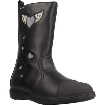 Sapatos Rapariga Botins Garvalin 191623 Preto
