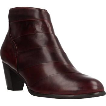 Sapatos Mulher Botins Regarde Le Ciel SONIA38008 Vermelho