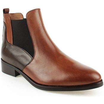 Sapatos Mulher Botins Wilano L Boot Lady Castanho
