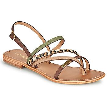 Sapatos Mulher Sandálias Les Tropéziennes par M Belarbi HOUKA Cáqui / Multi