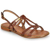 Sapatos Mulher Sandálias Les Tropéziennes par M Belarbi HACKLE Castanho