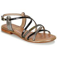 Sapatos Mulher Sandálias Les Tropéziennes par M Belarbi HARRY Preto / Multi
