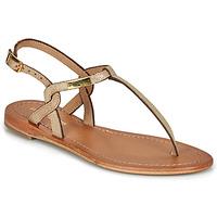 Sapatos Mulher Sandálias Les Tropéziennes par M Belarbi BILLY Dourado / Íris