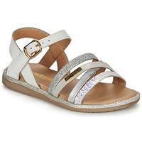 Sapatos Rapariga Sandálias Les Tropéziennes par M Belarbi INAYA Branco