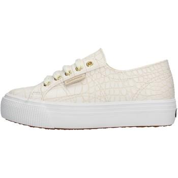 Sapatos Rapariga Sapatilhas Superga - Sneaker bianco S00FPG0 2790 900 ARGENTO