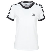 Textil Mulher T-Shirt mangas curtas adidas Originals 3 STR TEE Branco
