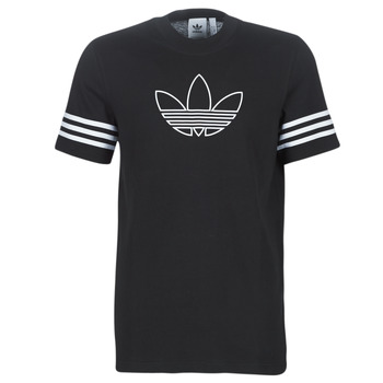 Textil Homem T-Shirt mangas curtas adidas Originals OUTLINE TEE Preto