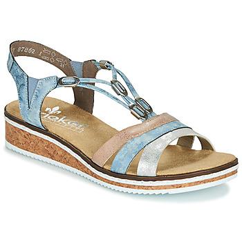 Sapatos Mulher Sandálias Rieker LAKTOS Azul