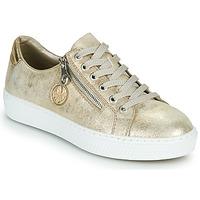 Sapatos Mulher Sapatilhas Rieker LIROS Ouro