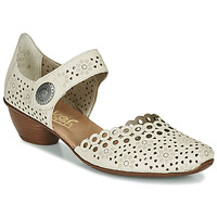 Sapatos Mulher Escarpim Rieker KIRIN Bege