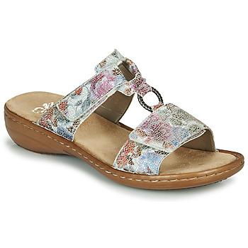 Sapatos Mulher Chinelos Rieker MOLA Multicolor