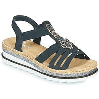 Sapatos Mulher Sandálias Rieker LOUANN Preto