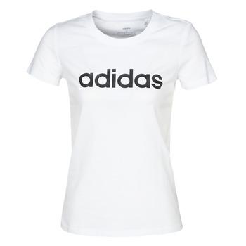 Textil Mulher T-Shirt mangas curtas adidas Performance E LIN SLIM T Branco