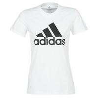Textil Mulher T-Shirt mangas curtas adidas Performance BOS CO TEE Branco
