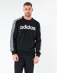Textil Homem Sweats adidas Performance E 3S CREW FL Preto