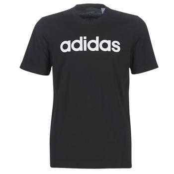 Textil Homem T-Shirt mangas curtas adidas Performance E LIN TEE Preto