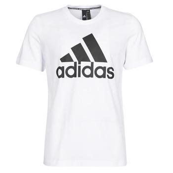 Textil Homem T-Shirt mangas curtas adidas Performance MH BOS Tee Branco