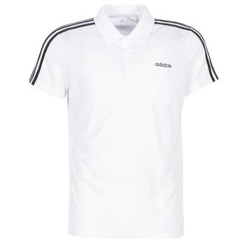 Textil Homem Polos mangas curta adidas Performance M D2M CLA 3S PO Branco