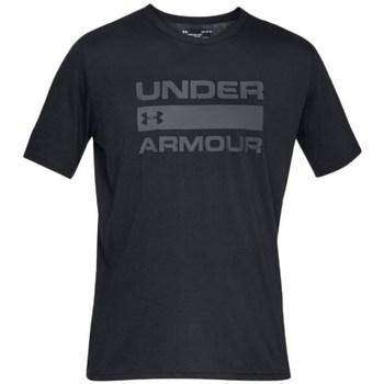 Textil Homem T-Shirt mangas curtas Under Armour Team Issue Wordmark Preto