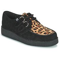 Sapatos Sapatos TUK LOW FLEX ROUND TOE CREEPER Preto / Leopardo