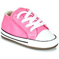 Sapatos Rapariga Sapatilhas de cano-alto Converse CHUCK TAYLOR FIRST STAR CANVAS HI Rosa