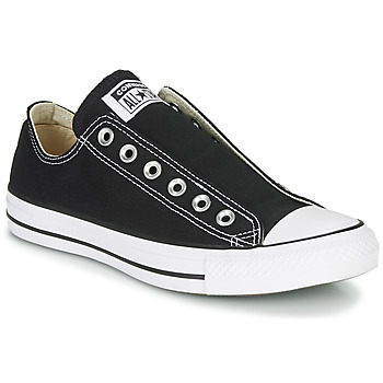 Sapatos Mulher Slip on Converse CHUCK TAYLOR ALL STAR SLIP CORE BASICS Preto