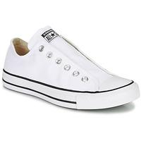 Sapatos Mulher Slip on Converse CHUCK TAYLOR ALL STAR SLIP CORE BASICS Branco