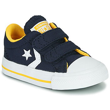 Sapatos Rapaz Sapatilhas Converse STAR PLAYER 2V VARSITY CANVAS Azul