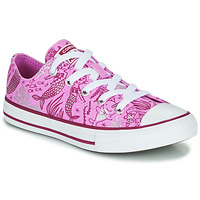 Sapatos Rapariga Sapatilhas de cano-alto Converse Chuck Taylor All Star Underwater Party Rosa / Multi