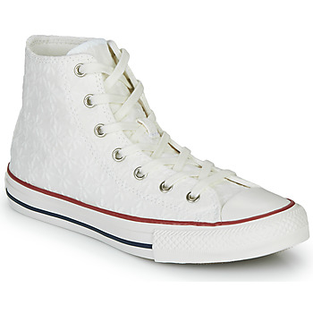 Sapatos Rapariga Sapatilhas de cano-alto Converse Chuck Taylor All Star Little Miss Chuck Branco