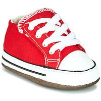 Sapatos Criança Sapatilhas de cano-alto Converse Chuck Taylor All Star Cribster Canvas Color Vermelho