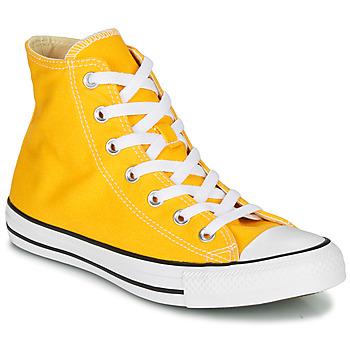 Sapatos Mulher Sapatilhas de cano-alto Converse CHUCK TAYLOR ALL STAR SEASONAL COLOR Amarelo