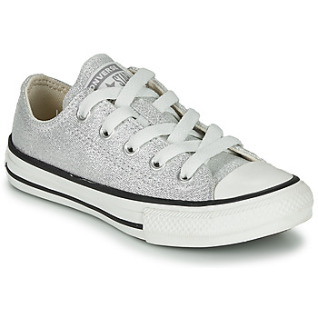 Sapatos Criança Sapatilhas Converse CHUCK TAYLOR ALL STAR SUMMER SPARKLE Cinza