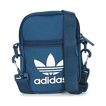 Malas Pouch / Clutch adidas Originals FEST BAG TREF Azul / Marinho