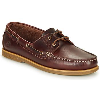 Sapatos Homem Sapato de vela Lumberjack NAVIGATOR Castanho