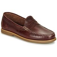 Sapatos Homem Mocassins Lumberjack NAVIGATOR Castanho