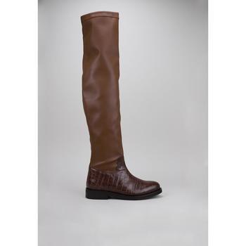 Sapatos Mulher Botas altas Roberto Torretta  Castanho