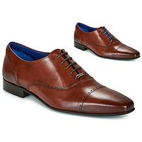 Sapatos Homem Richelieu Azzaro DOGME Conhaque