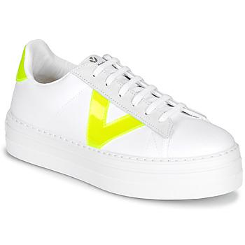 Sapatos Mulher Sapatilhas Victoria BARCELONA LONA Branco