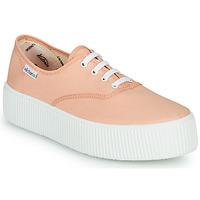 Sapatos Mulher Sapatilhas Victoria DOBLE LONA Coral