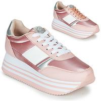 Sapatos Mulher Sapatilhas Victoria COMETA DOBLE METAL Rosa