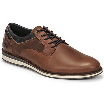 Sapatos Homem Sapatos Bullboxer THOMAS Castanho